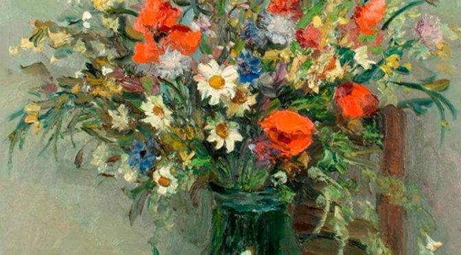 """Мастер-класс """"Букет цветов с натуры"""". 05.03.17"""