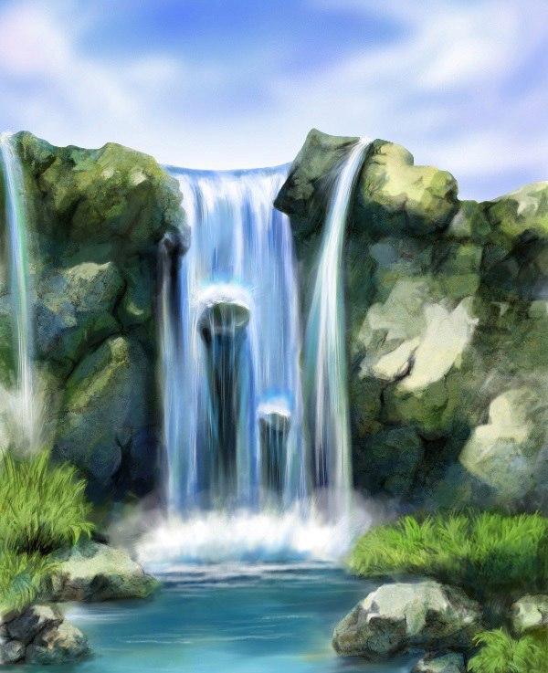 "Мастер-класс по правополушарному рисованию ""Водопад"" 28 июля"