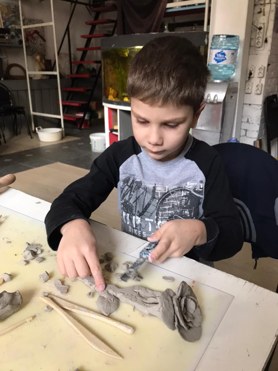 Мастер-классы по керамике для детей!